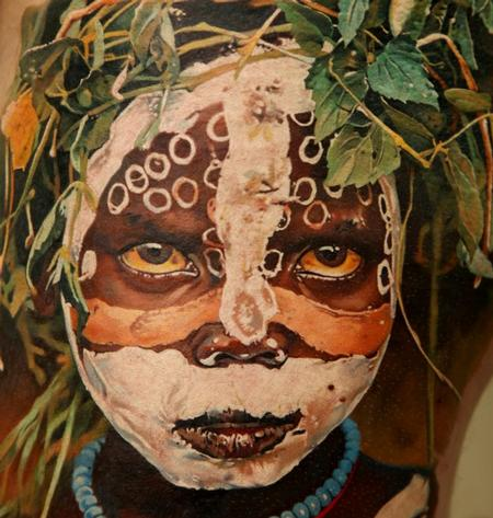 Dmitriy Samohin - Mursi Tribe Girl